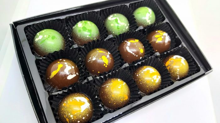 handcrafted sussex gin chocolate truffles